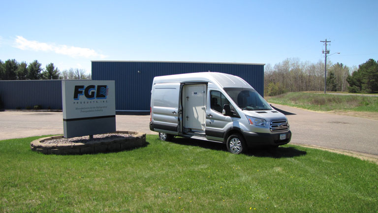 How to get a COOL-R Kit | Refrigerated Cargo Van | FG Products