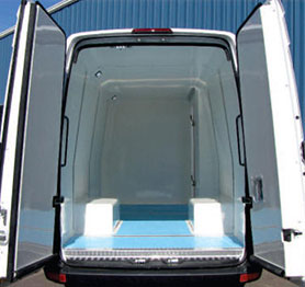 Sprinter - Cool-R Kit | FG Products | Refrigerated Cargo Van