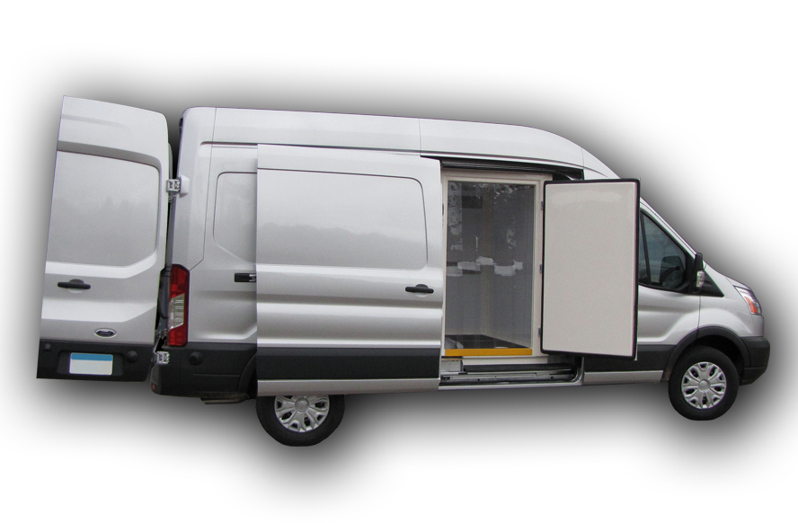 Ford Transit- Cool-R Kit | FG Products | Refrigerated Cargo Van
